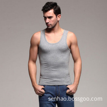 100% Cotton Jersey Blank Sleeveless T-Shirts/Vest/Tank Tops