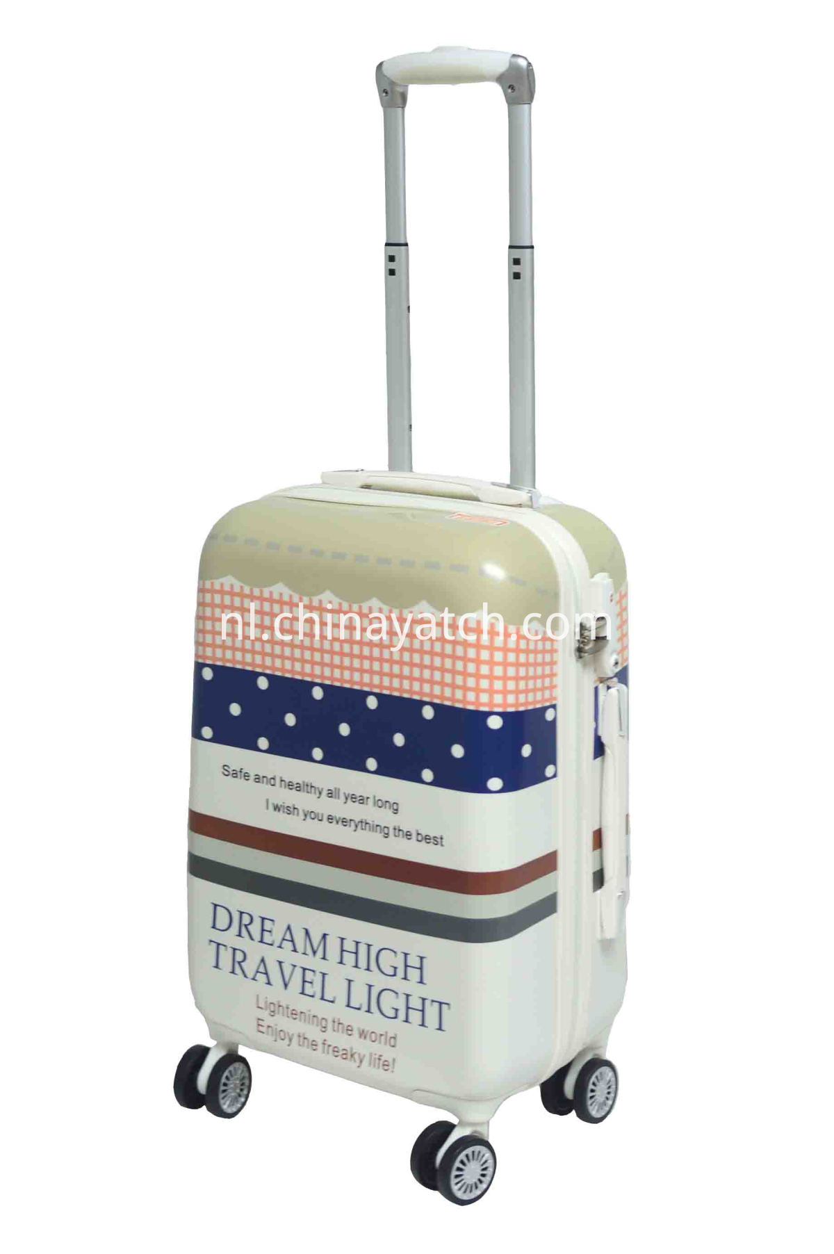 New Design ABS&PC Luggage with Cute Contrast Color