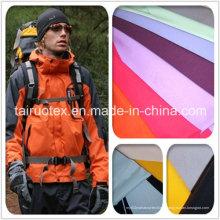 Taslon Nylon 228t mat avec hydrofuge pour le tissu de la veste