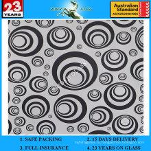 3-6мм АМ-61 декоративное Кисловочное Травленое матовое художественного архитектурного зеркало