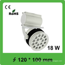 18W Epistar SMD led track spot light for Museum and gallery
