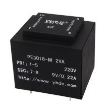 mini electronic AC transformer 6V 9V 12V PCB mount
