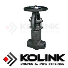 Válvula de compuerta forjada (sello de presión)