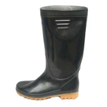 Rubber Boots With Zipper