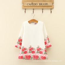 Осенние коллекции для взрослых женщин одежда мода конструкции оптовые девушки цветочные зимняя одежда новый