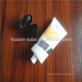 D50 big flat oval tube with flip cap for full body massage tube big natural tube