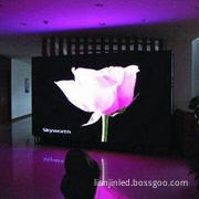 Curtain LED Display with 400W Power Consumption, Measuring 1,024 x 768mm