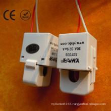 SCT-006 Split Core AC Current Transformer 20A:25mA 6mm Hole Diameter