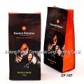 Manufacturer Wholesale Quad-Seal Aluminum Foil Pouch, Plastic Coffee/Tea Packaging Bag with Valve