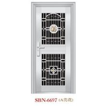 Porta de aço inoxidável para a luz do sol exterior (SBN-6697)