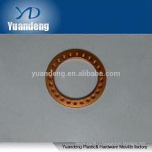 Пользовательские CNC анодированные оранжевые алюминиевые шайбы