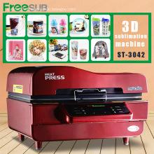 Máquina de impresión móvil de la cubierta del traspaso térmico de la sublimación de FREESUB