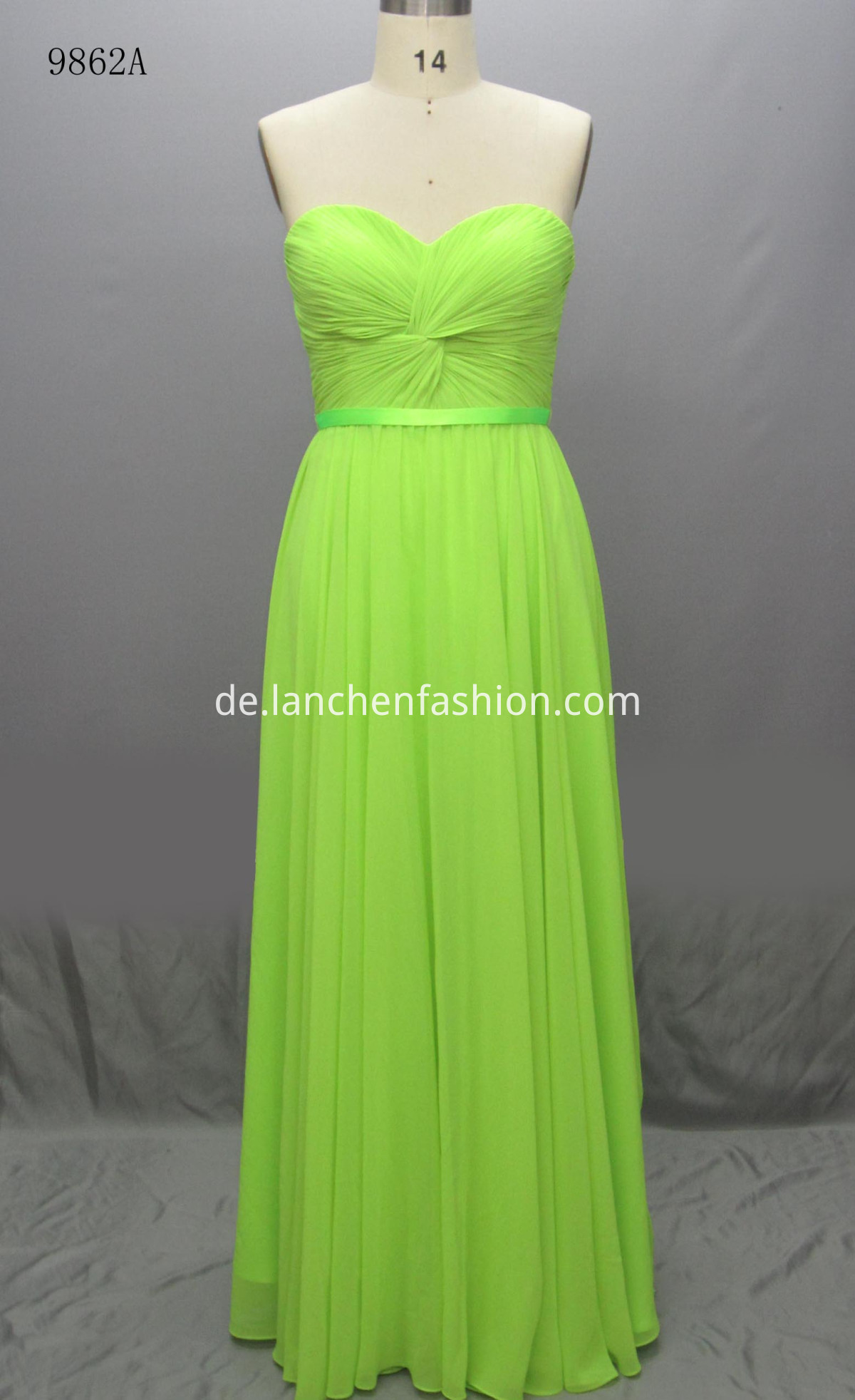 Lace Maxi Dress GREEN