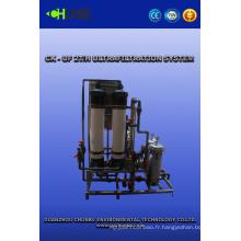 Équipement de traitement de l'eau de vente chaude avec le système de l'eau d'UF