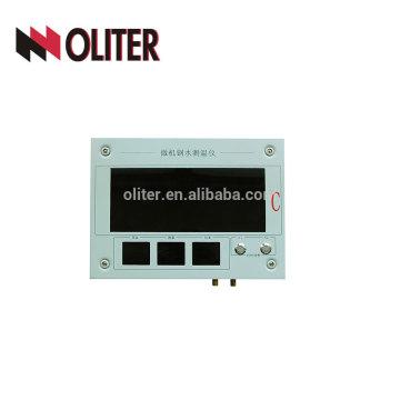 Indicador de temperatura para instrumento de medição de temperatura de aço fundido