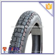 Alta qualidade 3.00-18 pneu de motocicleta pneu pneu tipo pneu motocross