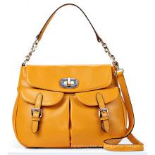 Diseñador de doble bolsillos de moda señora bolso (ly0096)