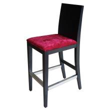Chaise de restaurant de barre d'hôtel