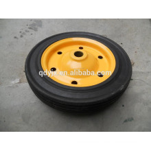 small solid rubber wheel for wheelbarrow wb3800