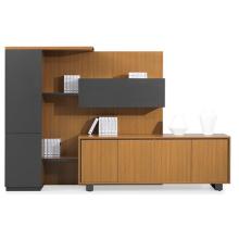 Estantería de libro de combinación libre y gabinete de relleno de oficina ejecutiva (FOH-KEW306)