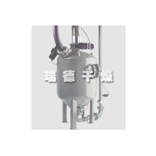 Pharmaceutical intermediate pneumatic conveying system