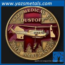 fertigen Sie Münzen, kundenspezifische Metall 832nd medizinische Co Dustoff Einheit Herausforderung Münze