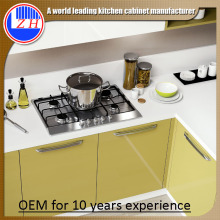 Lacquer Kitchen Cupboards with Sink Countertop (high glossy)