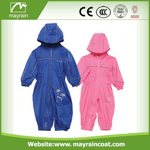 Kid Polyester Rainsuits