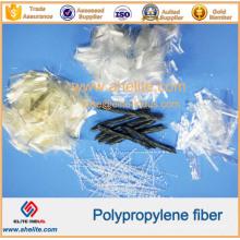 Monofilament de fibre de polypropylène PP de ténacité élevée / maille / tordu / vague pour le béton