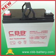 Cbb Großhandel 12V 38ah Solar Gel Batterie für Kehrmaschine