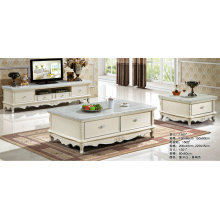 Europe Furniture, Royal Living Room Furniture, Coffee Table, TV Stand (1501)
