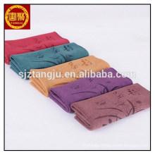 customized pattern high water absorbent custom tea towel white