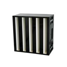 HEPA&ULPA Minipleat V Banks Air Filter for HVAC System