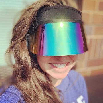 Neues Design UV-Schutz Kunststoff Sonnenblende Kappe
