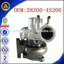 Vente chaude GT17 28200-4S200 49177-228014 suralimentateur pour Hyundai