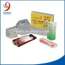Custom Printing Small Solid Rigid Clear Plastic Box For Packing                                                                         Quality Assured