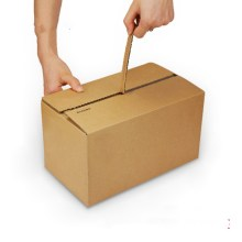ジッパー付ダンボール箱