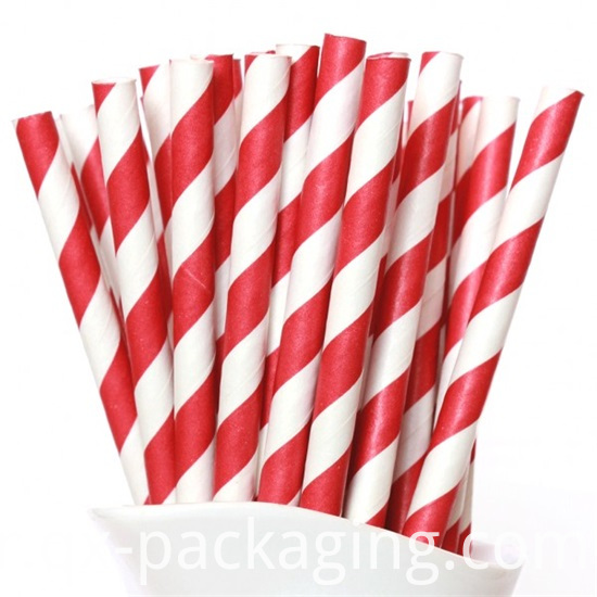 Red And White Straws