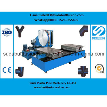 *315mm/630mm Elbow Tee Cross HDPE Pipe Fittings Butt Fusion Welding Machine