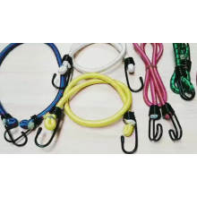 8MM Elastic bungee cord with steel hooks