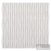Grey glass wall tile