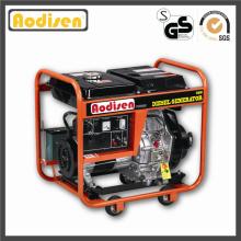 Generador diesel portátil de 4200 vatios