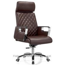 Chaise pivotante en cuir pivotante à dossier haut pivotant (HF-A2335)