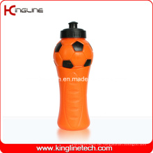 Plastik-Sport-Wasser-Flasche, Plastik-Sport-Wasser-Flasche, 600ml Plastik-Getränk-Flasche (KL-6648)
