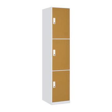 Changing Room 3 Door - Armario de acero amarillo