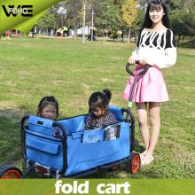 Chariot utilitaire pliant portatif extérieur de camion de main avec des roues
