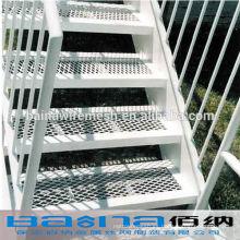 Escalera arquitectónica de acero expandido malla de alambre