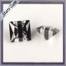 5mm de forme carrée Multi-Color CZ Gemstone pour bijoux