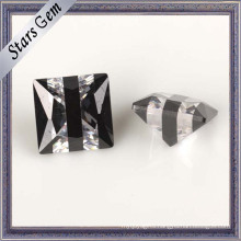 5mm Square Shape Multi-Color CZ Gemstone for Jewellery