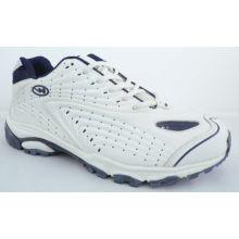 Custom Classic White Pu + Mesh Specialist Sports Shoes For Men / Women / Children